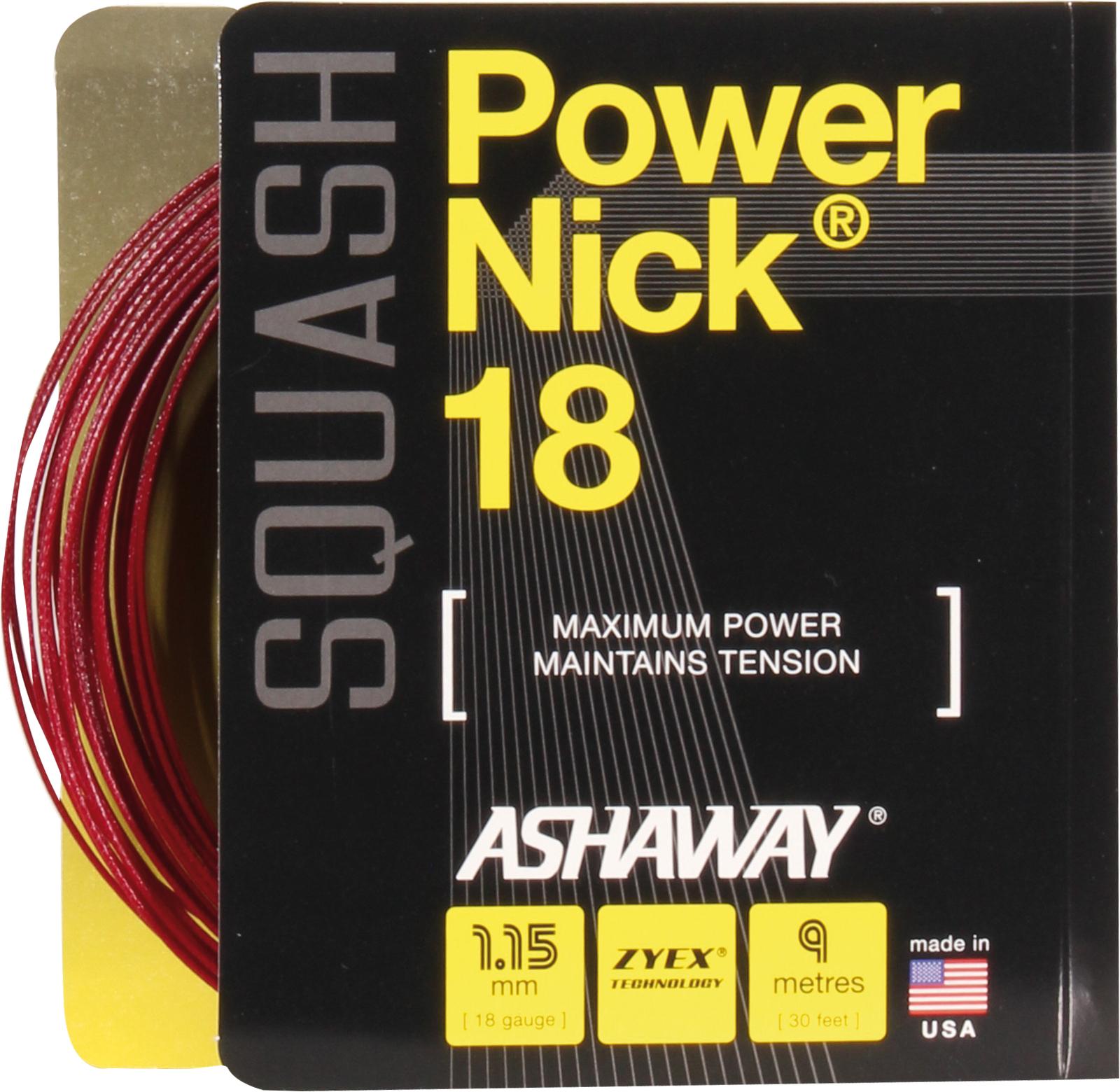 Ashaway PowerNick 18 zyex Set