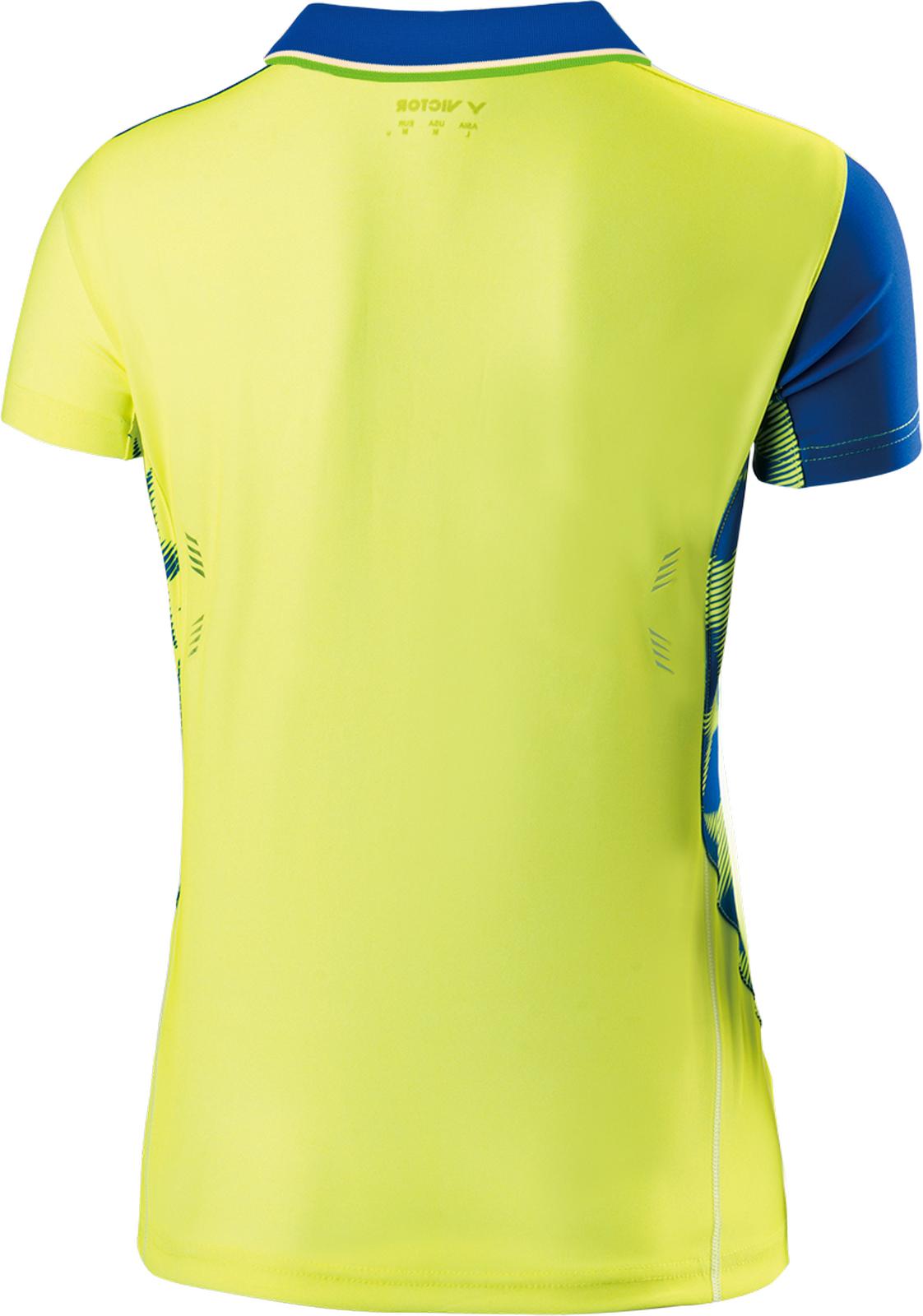 Victor Shirt Malaysia Frau gelb