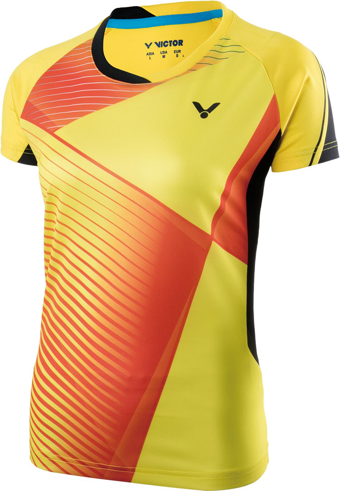 Victor Shirt Games Frau gelb