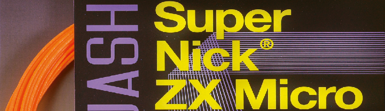 Ashaway Super Nick ZX Micro
